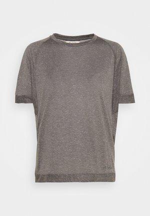 WOMENS MINEO - Basic T-shirt - iron