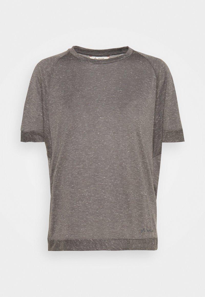 Vaude - WOMENS MINEO - Camiseta básica - iron