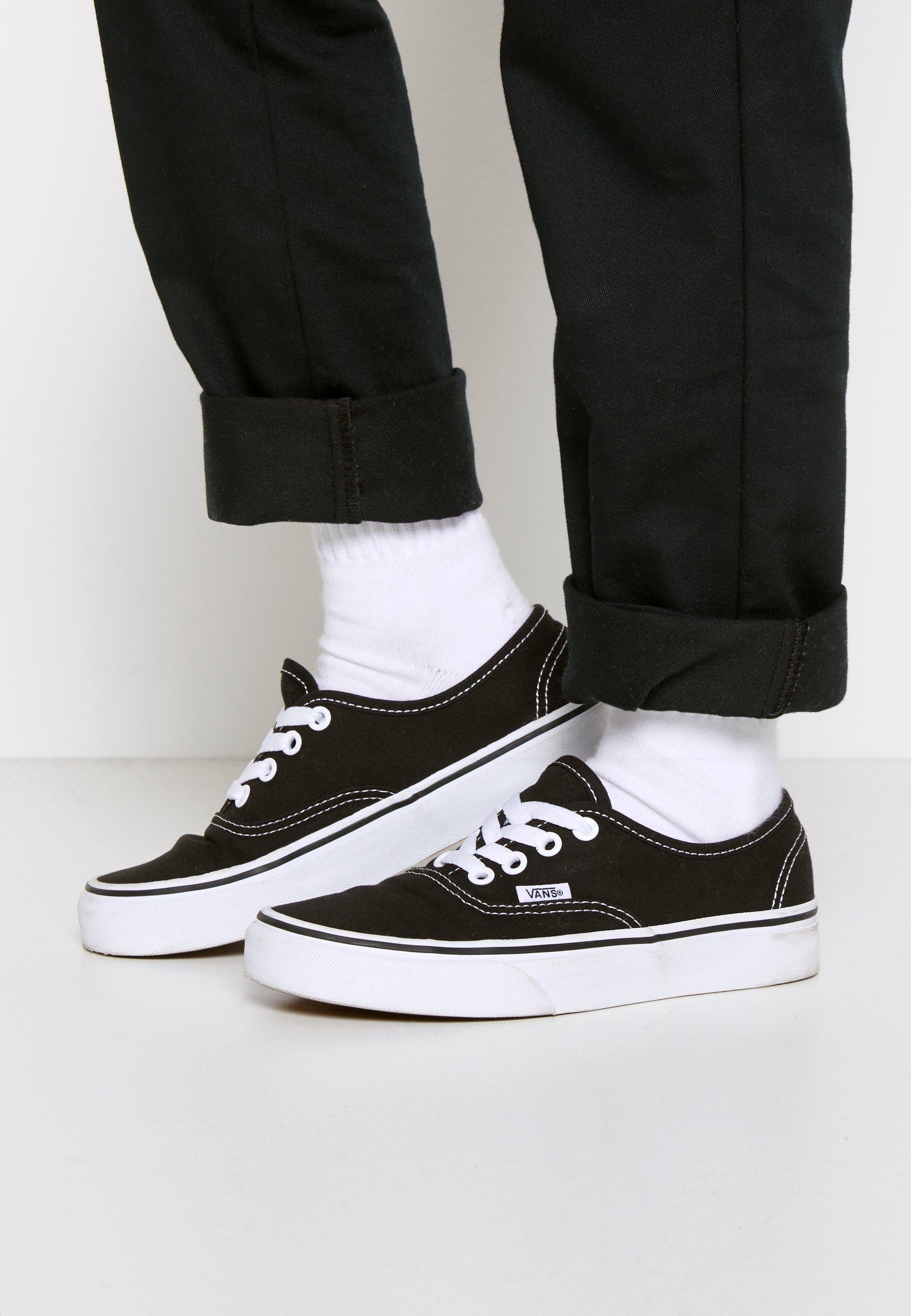 AUTHENTIC - Baskets basses - black/true white