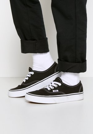 AUTHENTIC - Sneakersy niskie - black/true white
