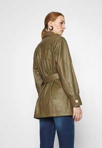 DAY Birger et Mikkelsen - SCILLA - Leather jacket - forest - 2