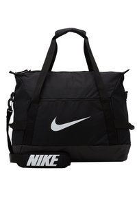 Nike Performance - TEAM DUFF - Torba sportowa - black/black/white - 5