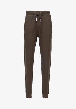 Pyjama bottoms - open green