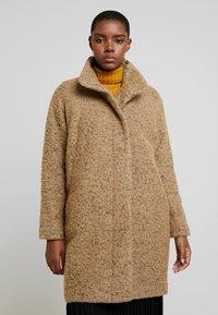 Samsøe Samsøe - HOFF - Classic coat - khaki melange - 0