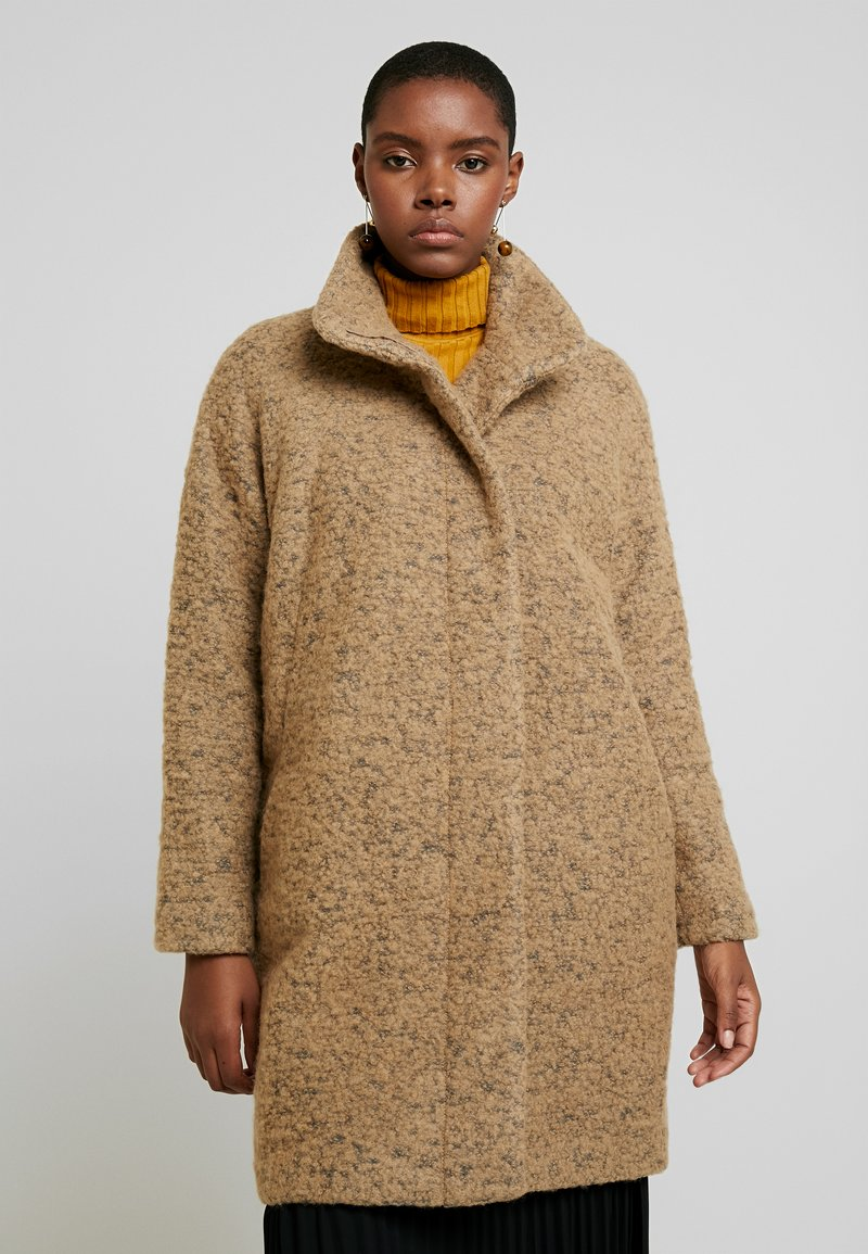 Samsøe Samsøe - HOFF - Classic coat - khaki melange