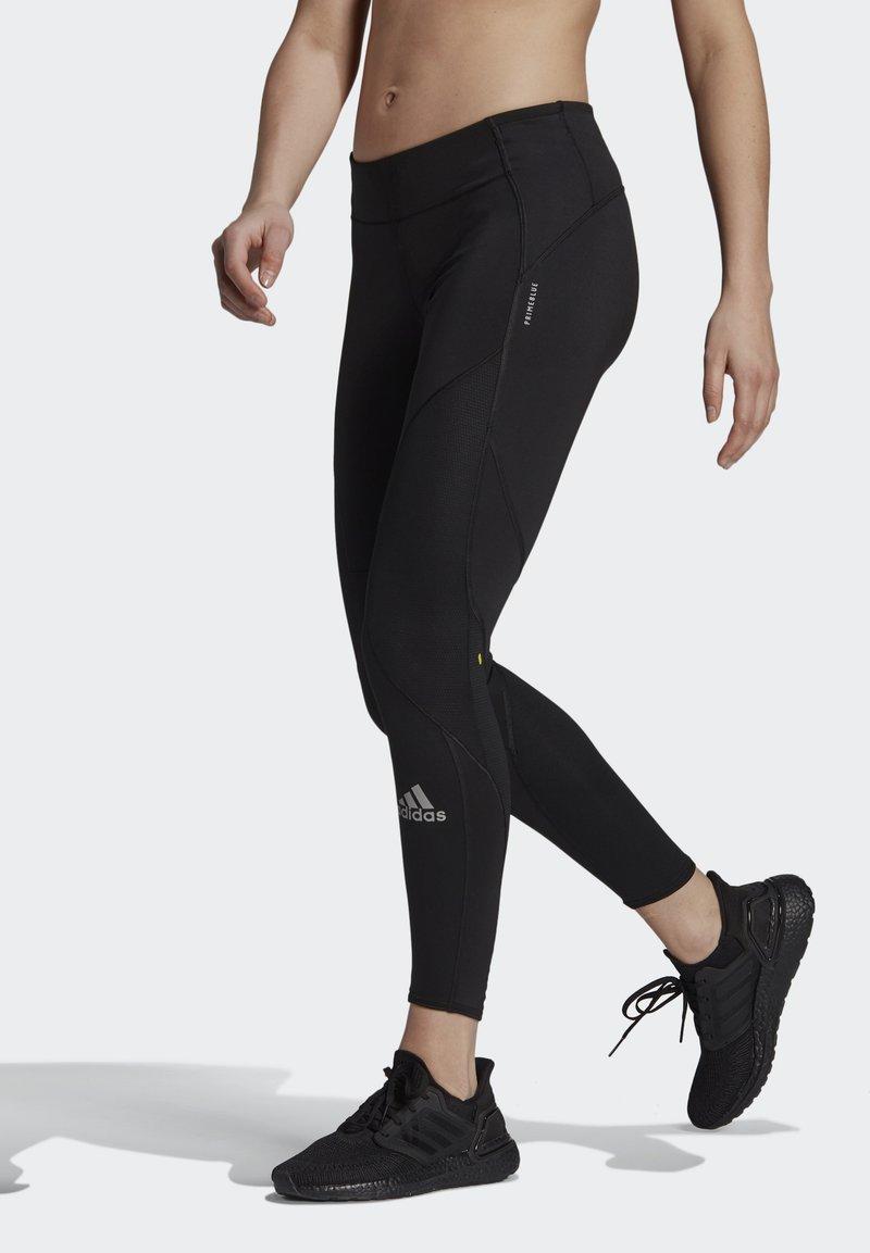 adidas Performance - 3-STRIPES SPORTS LOOSE - Tights - black