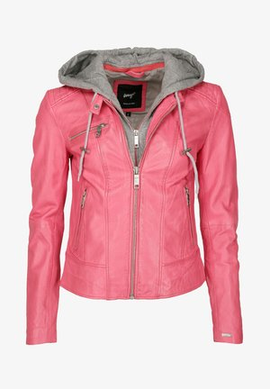 Leather jacket - pink