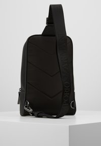 Emporio Armani - BODYPACK - Across body bag - black - 2