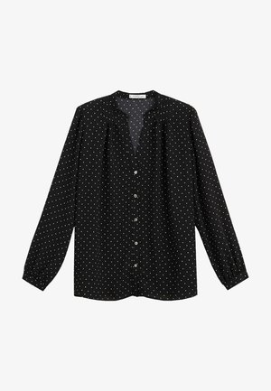 CORTESAN - Blouse - zwart
