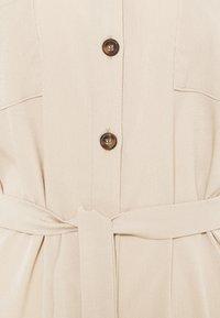 ONLY - ONLHANNOVER SHIRT DRESS - Shirt dress - humus - 6
