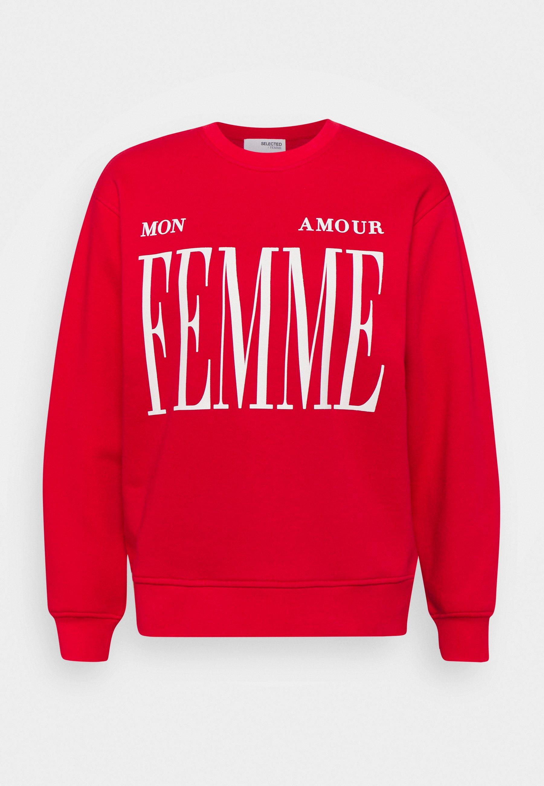 Women SLFAMOUR PRINT - Sweatshirt