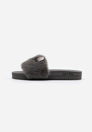 POOL MOUSE METALLIC - Pantoffels - dark grey