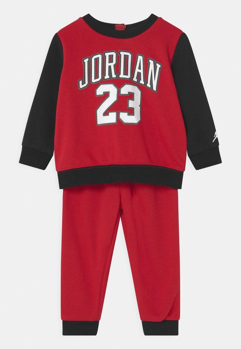 Jordan - PRACTICE FLIGHT CREW SET UNISEX - Tracksuit - gym red