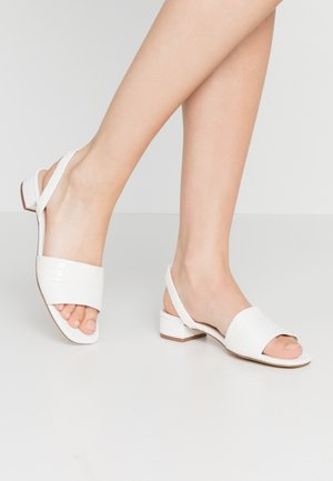 CANDY - Sandals - white