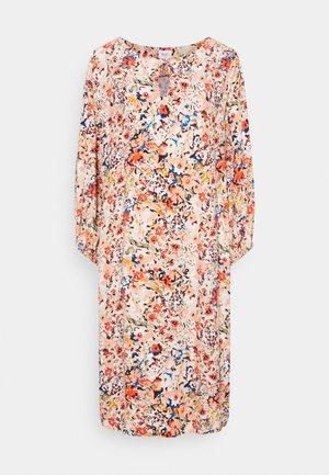 EBON DRESS - Korte jurk - smoke gray/artica