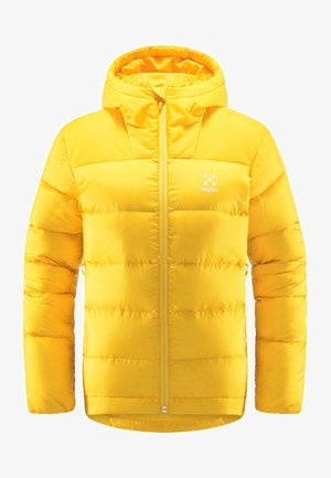 BIELD DOWN HOOD - Down jacket - pumpkin yellow