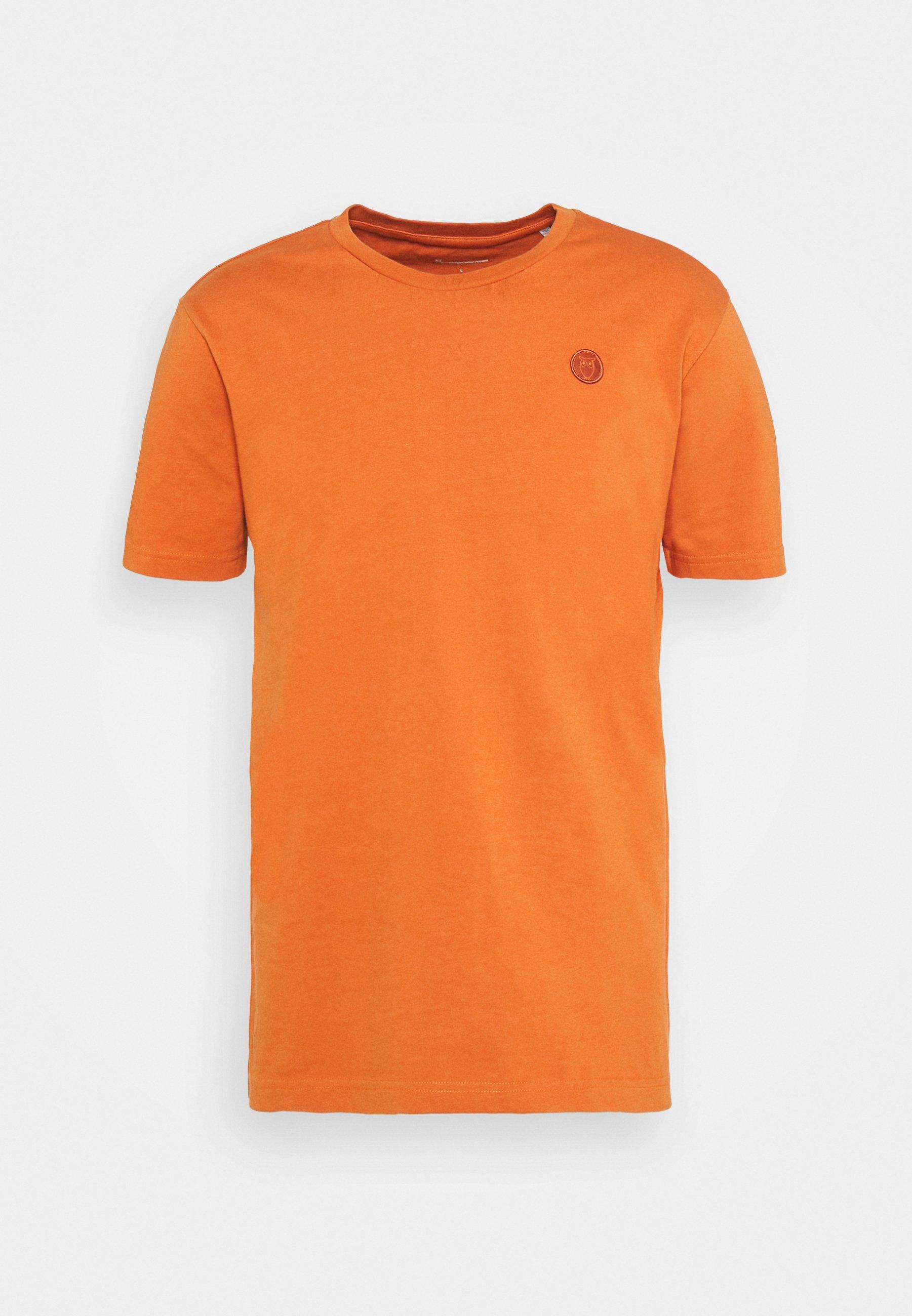 Men ALDER OWL BADGE - Basic T-shirt