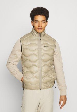 HELIUM VEST - Waistcoat - true beige