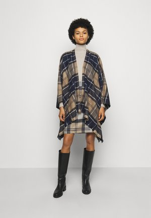 STAFFIN TARTAN SERAPE - Cape - tempest/trench