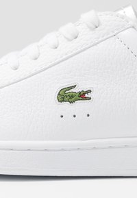 Lacoste - CARNABY EVO  - Baskets basses - white/silver - 2