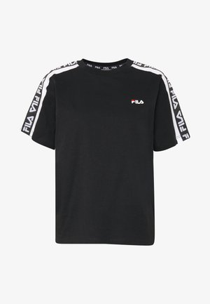 TANDY TEE - T-shirt imprimé - black / bright white