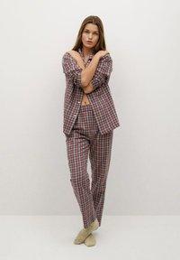 Mango - SUNDAY-I - Pyjama top - rød - 1