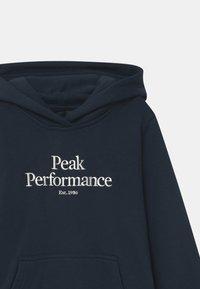 Peak Performance - ORIGINAL HOOD UNISEX - Mikina skapucí - blue shadow - 2