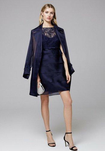 PREMESSA - Cocktail dress / Party dress - blu notte/blu notte/blu notte