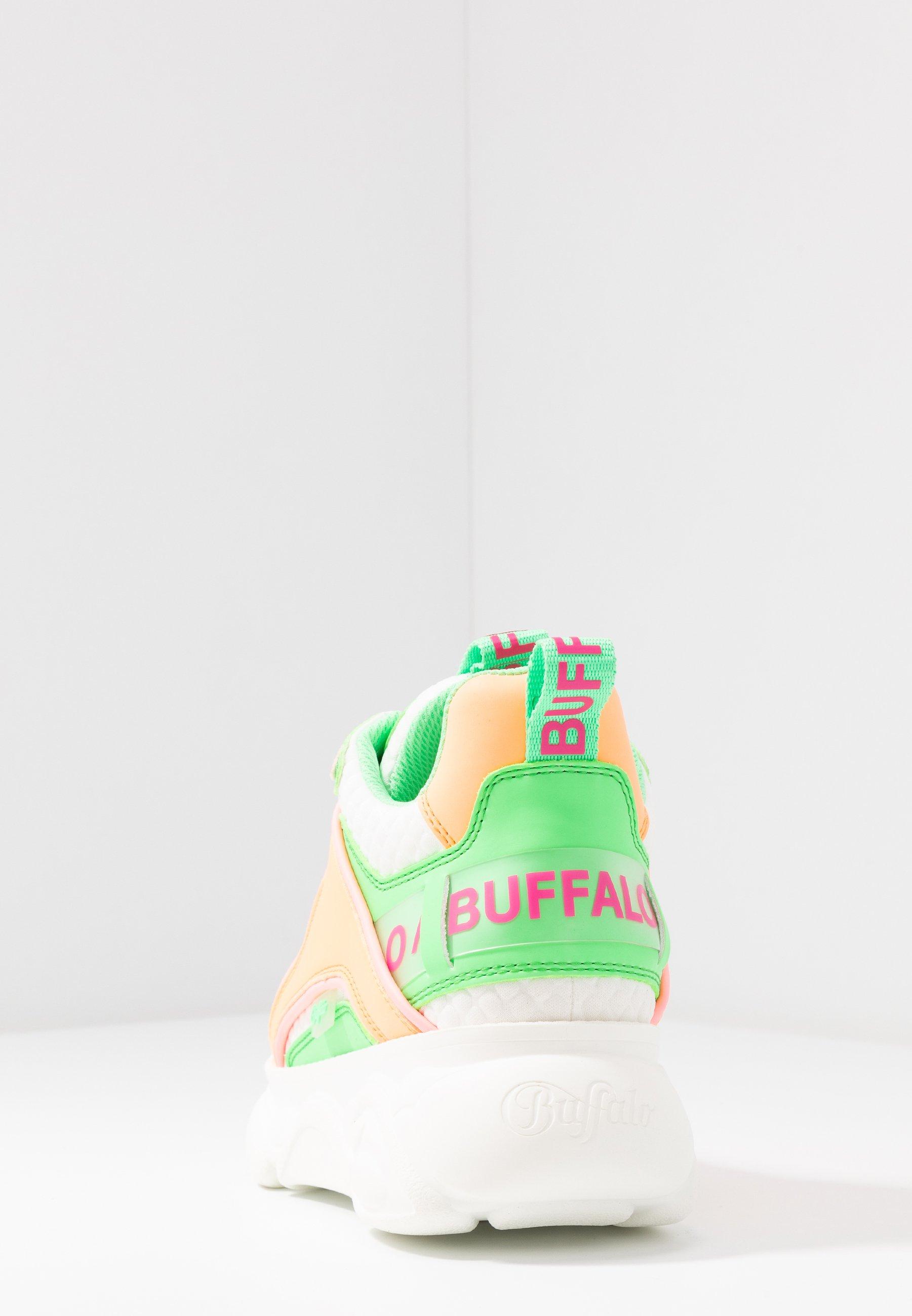Buffalo CHAI Joggesko neon multicolor Zalando.no