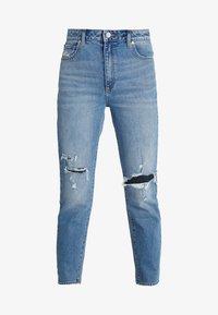 Abrand Jeans - HIGH - Slim fit jeans - blue denim - 4