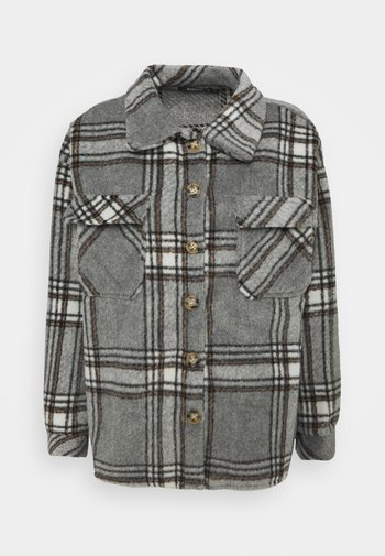 BRUSHED CHECK SHACKET