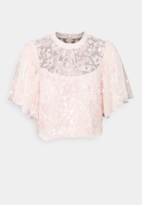 Needle & Thread - SEQUIN RIBBON TOP - Bluse - pink encore - 0