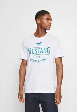 ALEX - Print T-shirt - general white