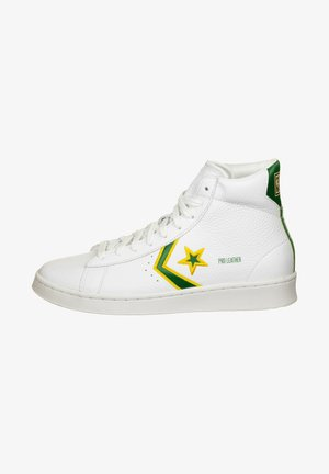 Sneakers hoog - white/clover