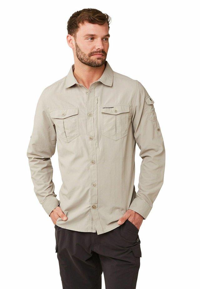 NOSILIFE ADVENTURE LANGARM - Shirt - parchment