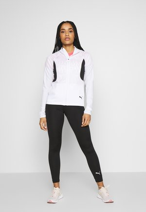 ACTIVE YOGINI SUIT SET - Tracksuit - puma white