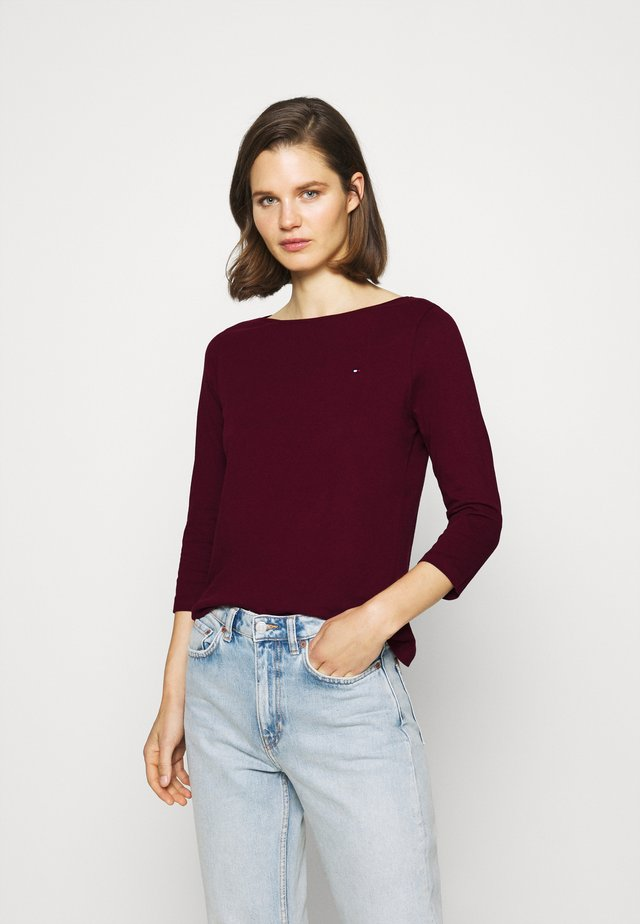 Long sleeved top - deep rough
