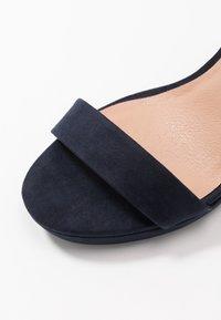 New Look - QUEEN - Sandály na vysokém podpatku - navy - 2