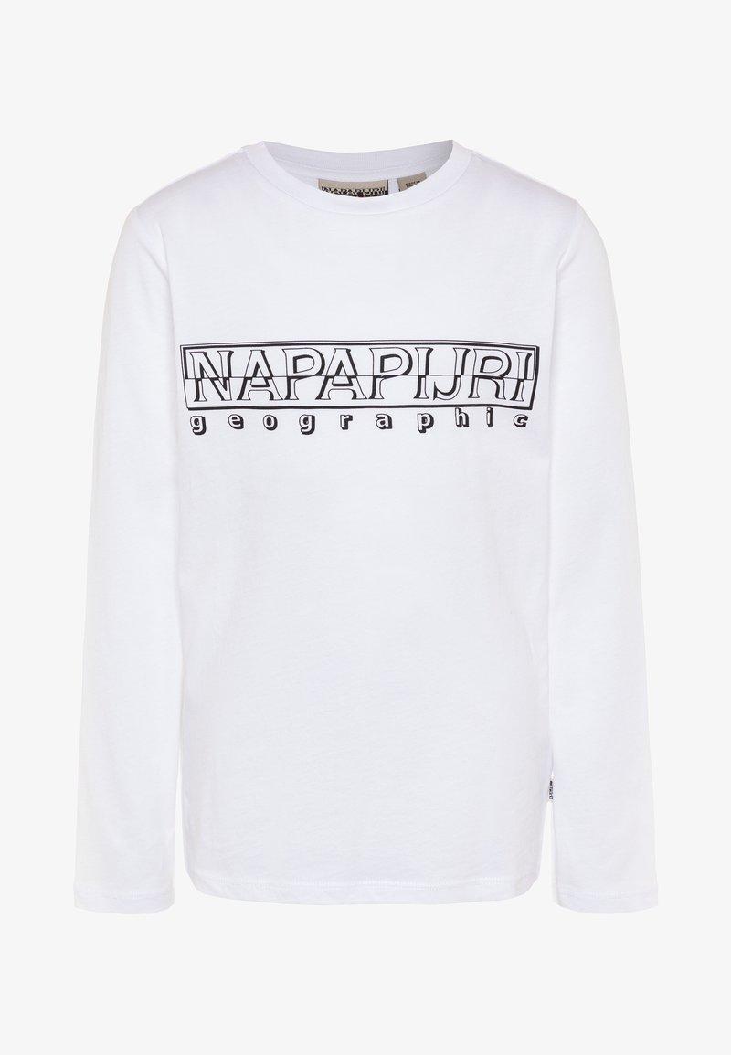 Napapijri - SOLI - Long sleeved top - bright white