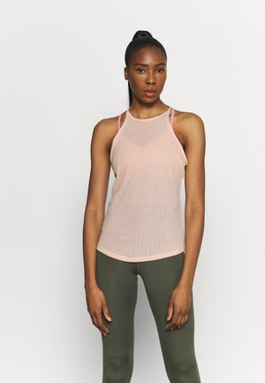 POINTELLE TANK - Sports shirt - arctic orange/orange pearl