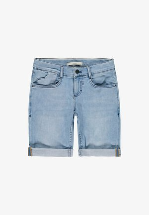 Denim shorts - blue bleached