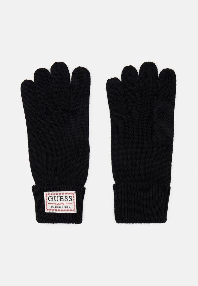 GLOVES - Fingerhandschuh - black