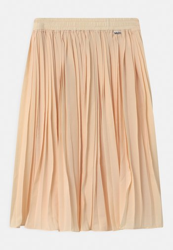BECKY - A-line skirt - banana crepe