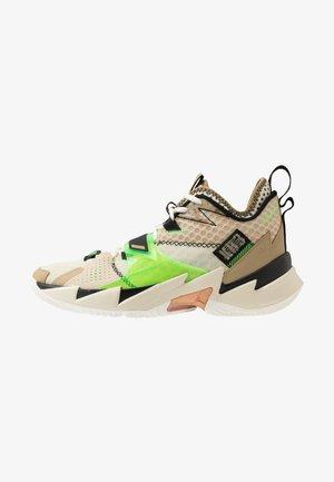 WHY NOT ZER0.3 - Basketbalové boty - parachute beige/rage green/fossil/black