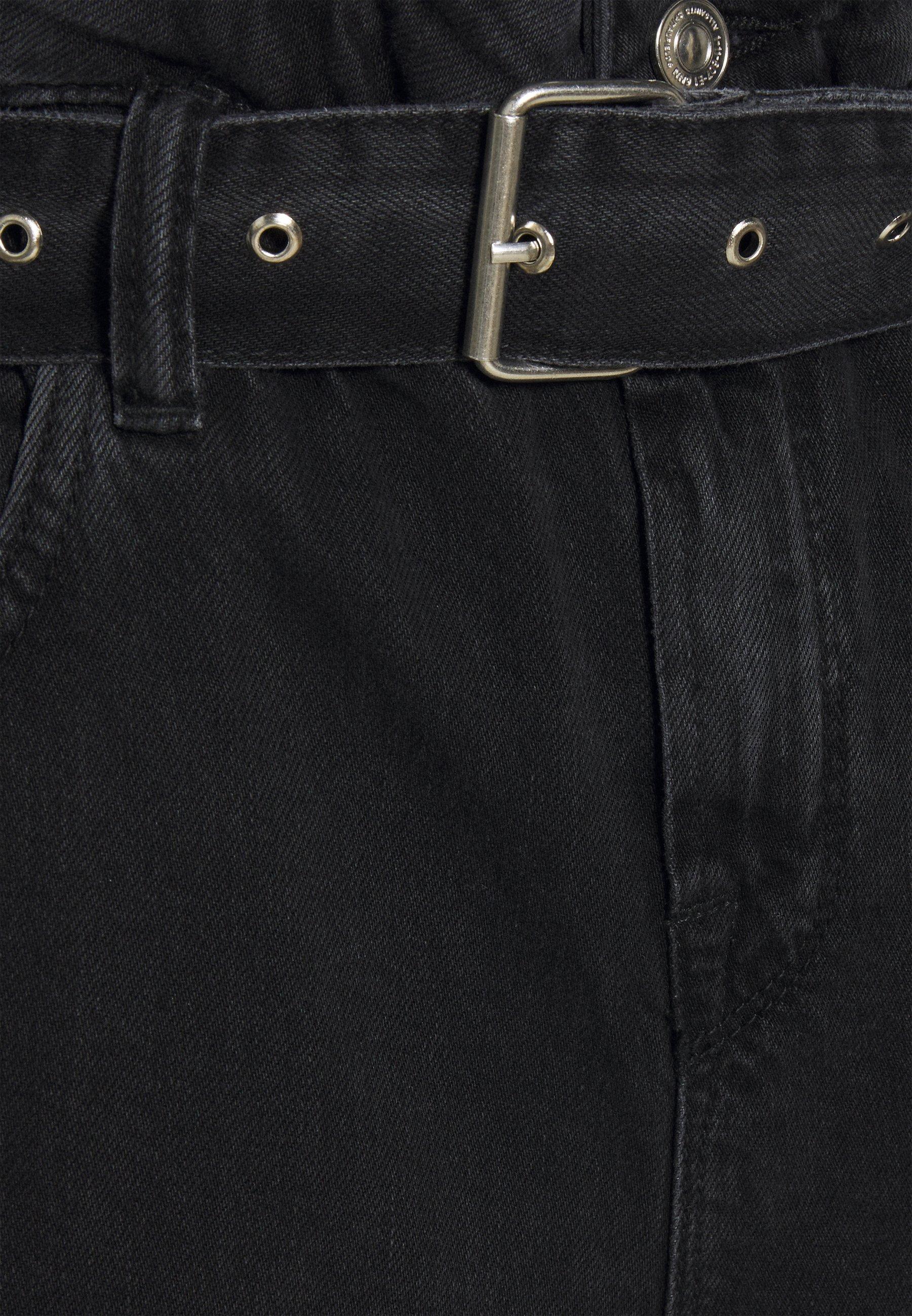 AllSaints Short en jean - washed black
