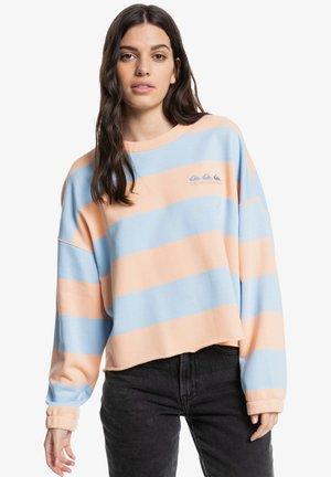 Sweatshirt - peach palm roots