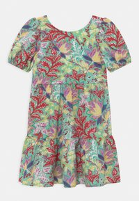 Chi Chi Girls - GIRLS PUFF SLEEVE TIERED DAY IN FLORAL PRINT - Denní šaty - multi-coloured - 0