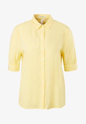 Button-down blouse - yellow