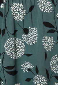 ONLY - ONLNOVA LUX LONG SKIRT  - Maxi skirt - balsam green/white - 2