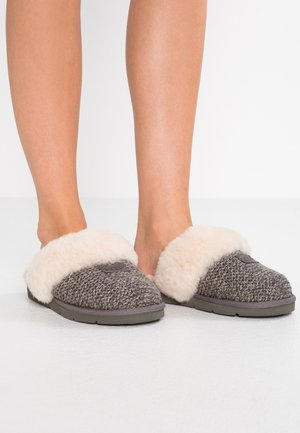 COZY - Slippers - charcoal